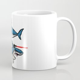 Sharks With Friggin' Laser Beams Attached to Their Heads Coffee Mug