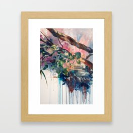 the moment healed from anxiety Framed Art Print