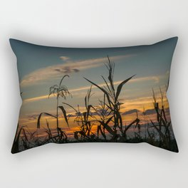 Maizen in the sunset Rectangular Pillow