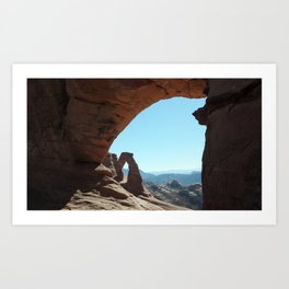 Window to the Arches Art Print