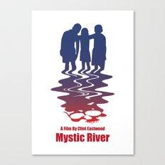 mystic river Canvas Print