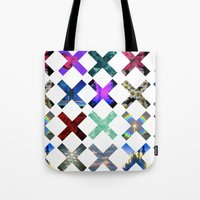 hologram Tote Bags featuring XXX by Sara Eshak