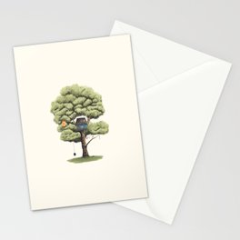 Tyre Swing Stationery Cards