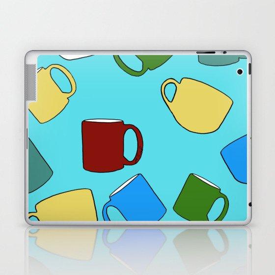 Coffee Mugs! Laptop & iPad Skin