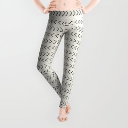 Arrows on Alabaster Leggings
