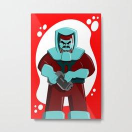 Spaceman Metal Print