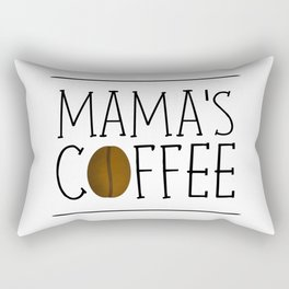 Mama's Coffee Rectangular Pillow