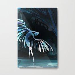 Swan princess Metal Print