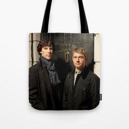 Johnlock Tote Bag