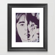 B.S. Framed Art Print