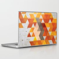 crossfit Laptop & iPad Skins featuring Geometric Penguin by Joel M Young
