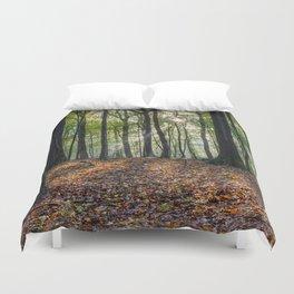 Beech Woodland Sunrise Duvet Cover
