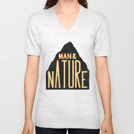 Man & Nature Unisex V-Neck