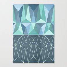 Nordic Combination 32 Canvas Print