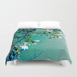 Spring Synthesis IV Duvet Cover