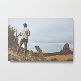 get outside. Metal Print
