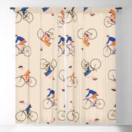 Bike Pattern Blackout Curtain