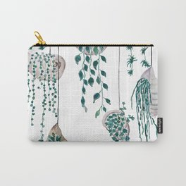 hanging plant in seashell Carry-All Pouch