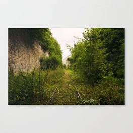 Il y avait autrefois seulement vous // Once there was only you Canvas Print