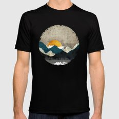 Thaw Black LARGE Mens Fitted Tee