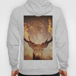 Wolf in the Flames Hoody