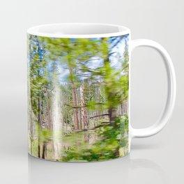Tree Blur Coffee Mug