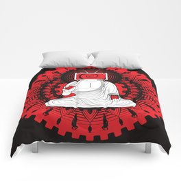 Manipulated Buddha Comforters