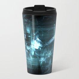 Shattered Glass Metal Travel Mug