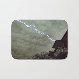 lightning Bath Mat
