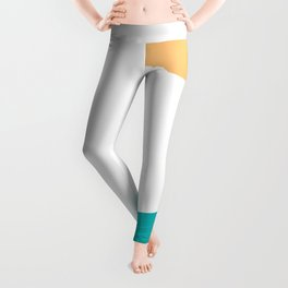 Sun And Wave Perfect Summer Combination Leggings
