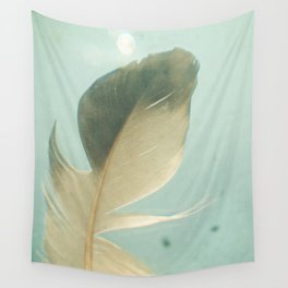 Grey Feather Wall Tapestry