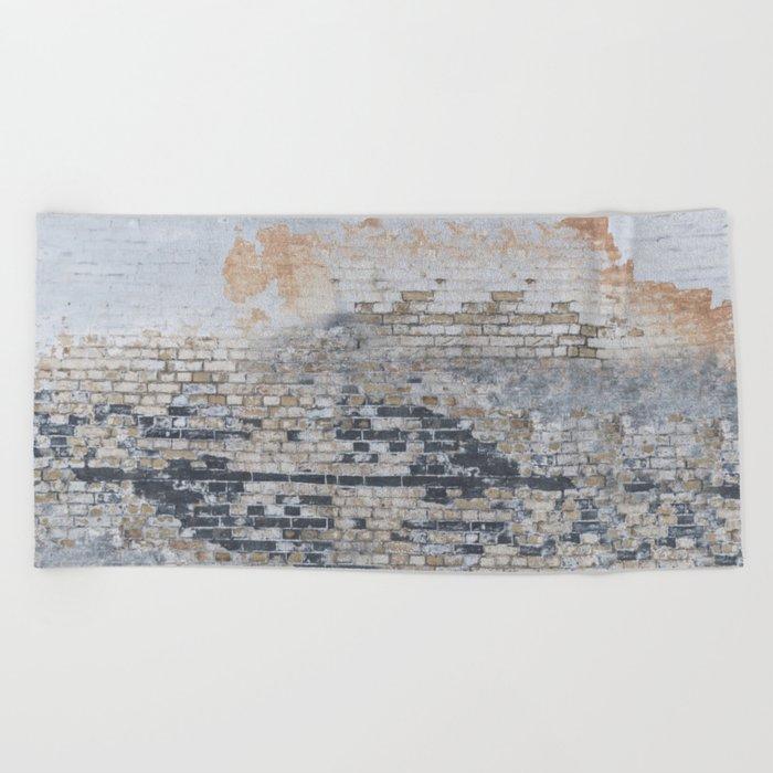 Old Bricks Beach Towel