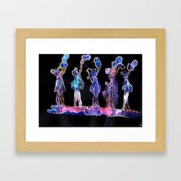 Fugal Commute Framed Art Print