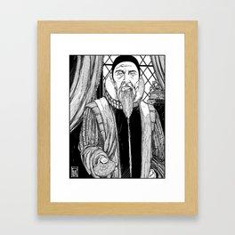 Dr. John Dee Framed Art Print