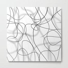 easy lines Metal Print