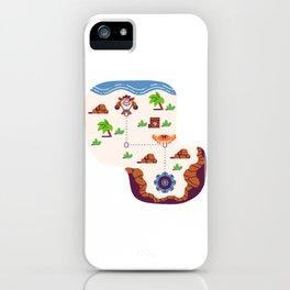 Overworld: Beach iPhone Case