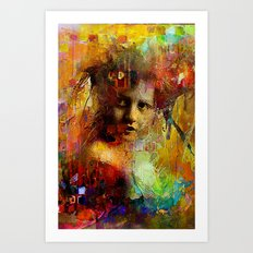 First time you looked at me Art Print