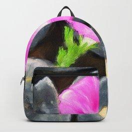 just a lovely flower Backpack