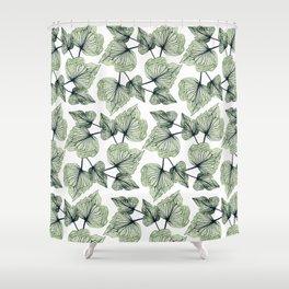 Exotic Foliage II Shower Curtain