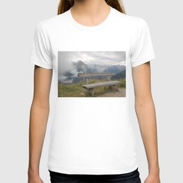 A cloudy day in the Austrian Alps T-shirt