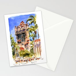 Tower of Terror Stationery Cards