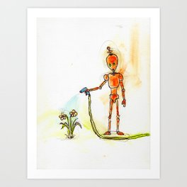 Orange Pours Some Sugar On It Art Print