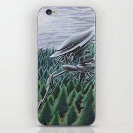 War of the Worlds iPhone Skin