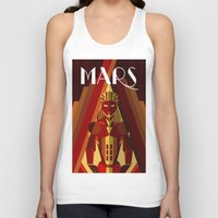 mars Tank Tops featuring Mars by Emanuel Afonso