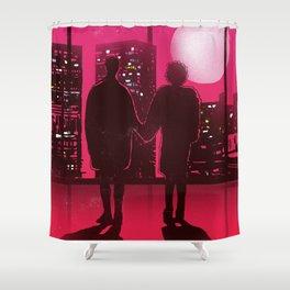 Tyler and Marla scene Shower Curtain