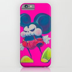 fatty skinny mickey skull iPhone 6s Slim Case