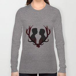 Rust & Marty (red) Long Sleeve T-shirt