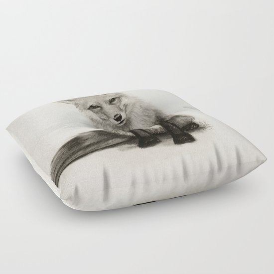 Fox Say What?! Floor Pillow