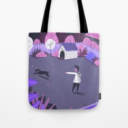 Play in the night garden Tote Bag