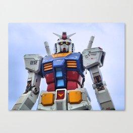 Gundam Stare Canvas Print